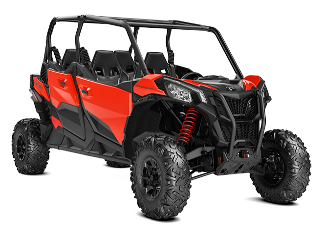 2019-Maverick-Sport-Max-DPS-1000-Can-Am-Red_3-4-front