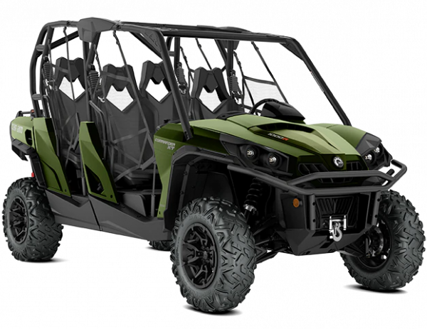 2020-Commander-MAX-XT-1000R-Boreal-Green_3-4-front