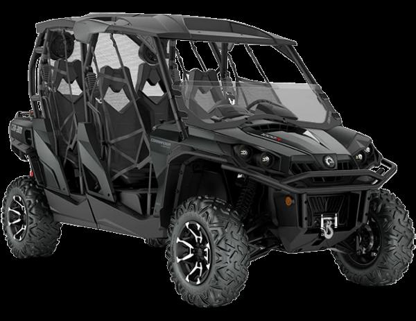 2020-Commander-Max-LIMITED-1000R-Asphalt-Grey_3-4-front