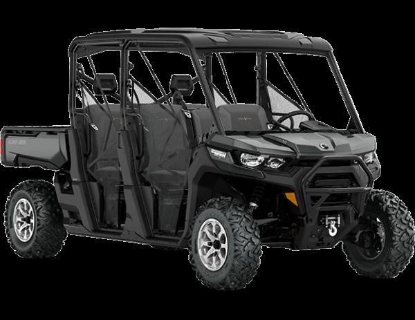 2020-Defender-Max-Lone-Star-HD10-Asphalt-Grey-Hyper-Silver_3-4-front