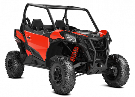 2020-Maverick-Sport-DPS-1000-Black-Can-Am-Red_3-4-front