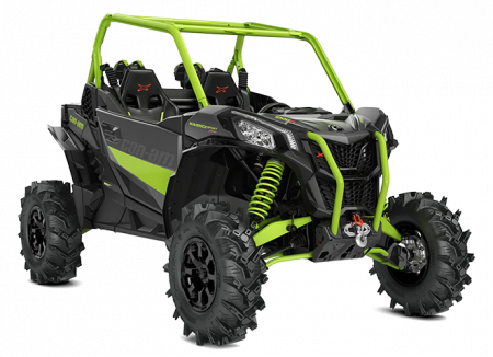 2020-Maverick-Sport-X-mr-1000R-Mineral-Grey-Manta-Green_3-4-front
