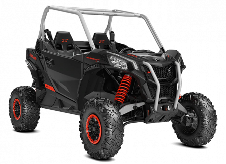 2020-Maverick-Sport-X-xc-1000R-Timeless-Black-Hyper-Silver-Can-Am-Red_3-4-front