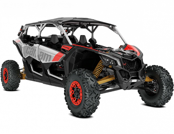 2020-Maverick-X3-Max-X-rs-Turbo-RR-Hyper-Silver-Liquid-Gold-Can-Am-Red_3-4-front