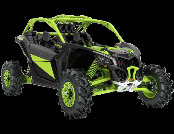 2020-Maverick-X3-X-mr-Turbo-RR-Mineral-Grey-Manta-Green_3-4-front