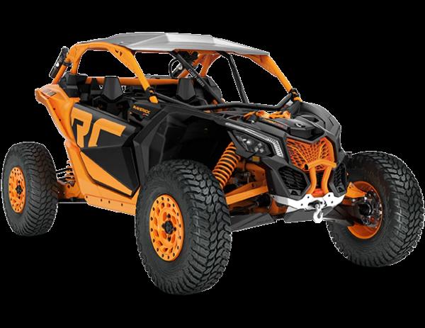 2020-Maverick-X3-X-rc-Turbo-RR-Carbon-Black-Orange-Crush_3-4-front