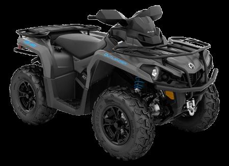 2020-Oultander-XT-570-Iron-Gray-Octane-Blue_3-4-front