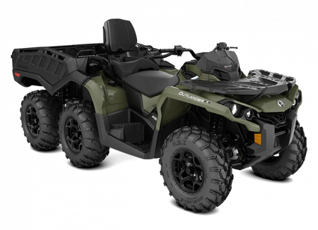 2020-Outlander-MAX-6x6-DPS-650-Squadron-Green_3-4-front
