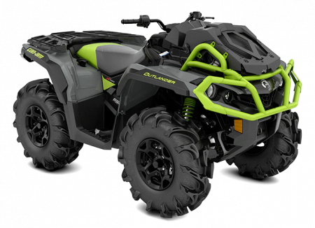 2020-Outlander-X-mr-650-Granit-Gray-Black-Manta-Green_3-4-front