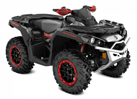2020-Outlander-X-xc-1000R-Black-Hyper-Silver-Can-Am-Red_3-4-front