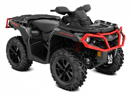 2020-Outlander-XT-1000R-Black-Can-Am-Red_3-4-front