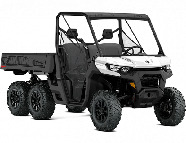 2021-Can-Am-Defender-6x6-DPS-HD10HO-White-34Front