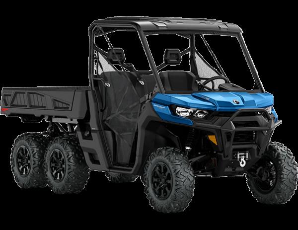 2021-Can-Am-Defender-6x6-XT-HD10HO-OxfordBlue-34Front