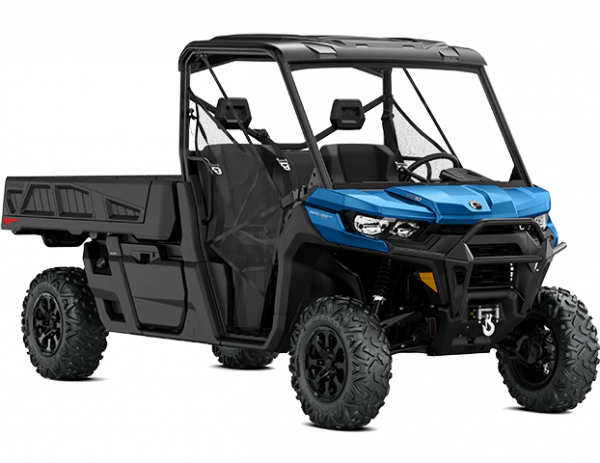 2021-Can-Am-Defender-Pro-XT-HD10HO-OxfordBlue-34Front