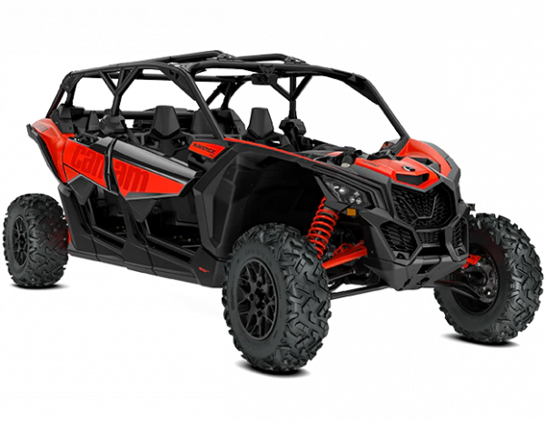 2021-Can-Am-Maverick-Max-X3-DS-Turbo-CanAmRed-34Front