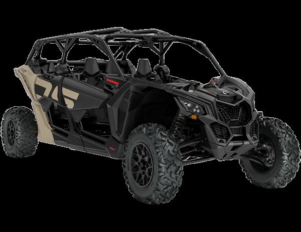2021-Can-Am-Maverick-Max-X3-DS-TurboR-MacchiatoSatin-Black-34Front