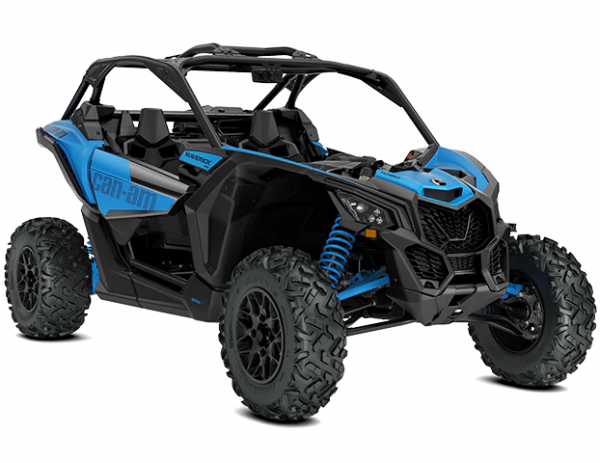 2021-Can-Am-Maverick-X3-DS-Turbo-GulfstreamBlue-34Front