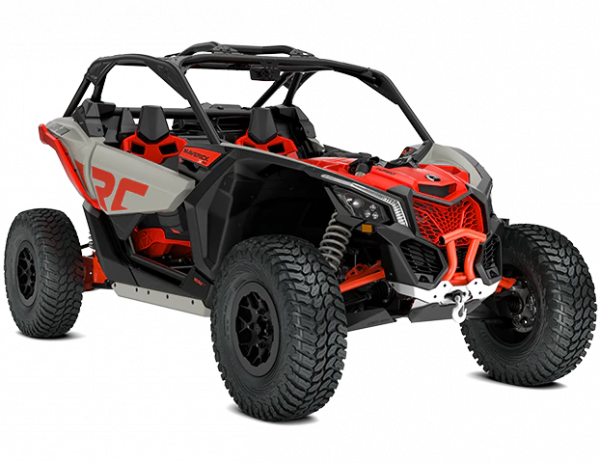 2021-Can-Am-Maverick-X3-Xrc-Turbo-ChalkGrey-MagmaRed-34Front