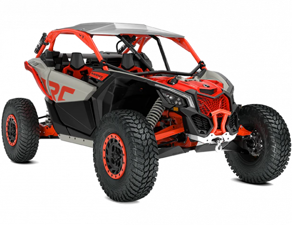 2021-Can-Am-Maverick-X3-Xrc-TurboRR-ChalkGrey-MagmaRed-34Front