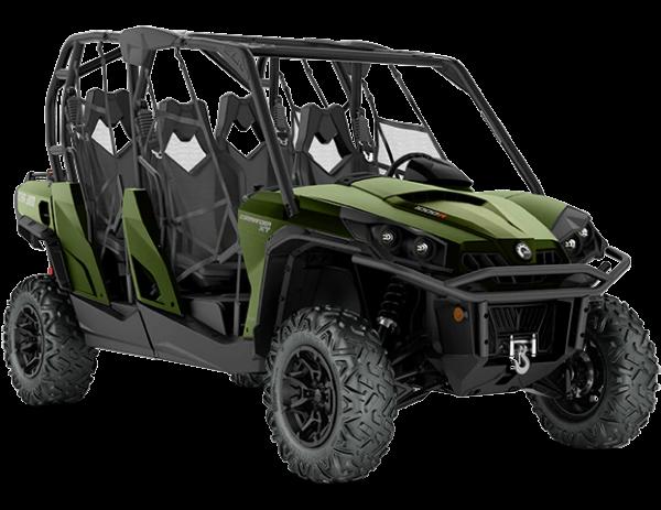 2021-Commander-MAX-XT-1000R-Boreal-Green_3-4-front