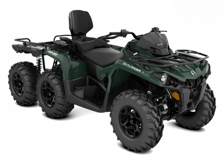 MY21-Can-Am-Outlander-MAX-6x6-DPS-450-Tundra-Green-34view