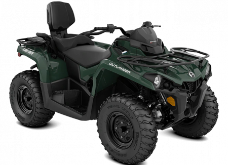 MY21-Can-Am-Outlander-MAX-DPS-450-Tundra-Green-34view