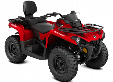 MY21-Can-Am-Outlander-MAX-STD-450-Red-34view