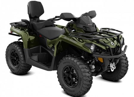 MY21-Can-Am-Outlander-MAX-XT-570-Boreal-Green-34view