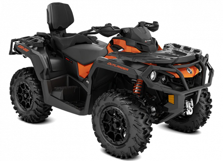 MY21-Can-Am-Outlander-MAX-XT-P-850-Phoenix-Orange-Carbon-Black-34view