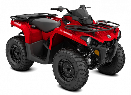 MY21-Can-Am-Outlander-STD-450-Red-34view