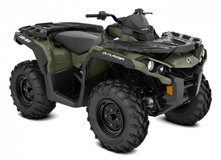 MY21-Can-Am-Outlander-STD-650-Squadron-Green-34view