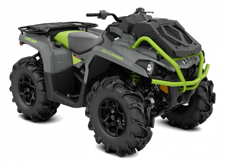 MY21-Can-Am-Outlander-X-mr-570-Granitee-Gray-Black-Manta-Green-34view
