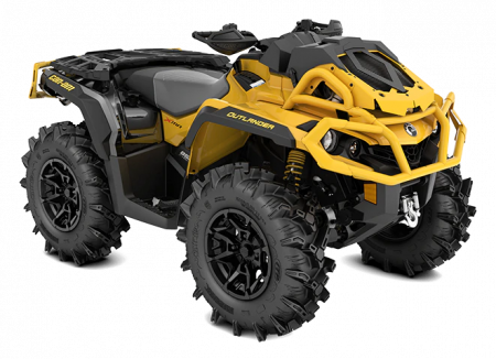 MY21-Can-Am-Outlander-X-mr-850-Neo-Yellow-Black-34view