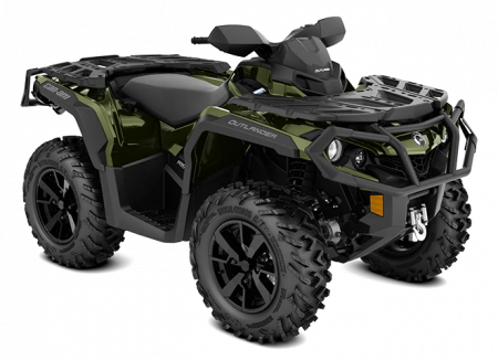 MY21-Can-Am-Outlander-XT-1000R-Boreal-Green-34view