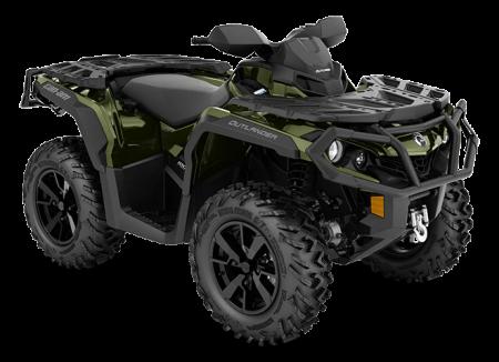 MY21-Can-Am-Outlander-XT-1000R-Boreal-Green-34view