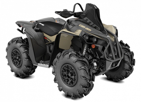 MY21-Can-Am-Renegade-X-mr-570-Desert-Tan-Black-34view